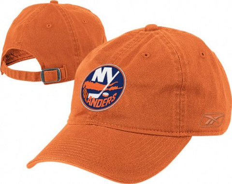 New York Islanders NHL Reebok Orange Slouch Relaxed Hat Cap Adult Adjustable