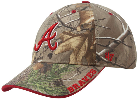 Atlanta Braves MLB '47 Realtree Camo Frost Hat Cap Adult Men's Adjustable