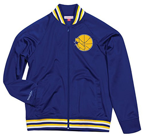 Mitchell & Ness Golden State Warriors Men's Top Prospect Full Zip Track Jacket