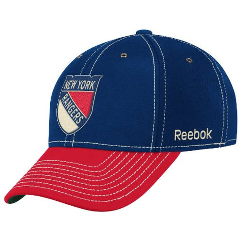 New York Rangers NHL Winter Classic Hat Cap Retro Throwback Flex Fit Hat L/XL
