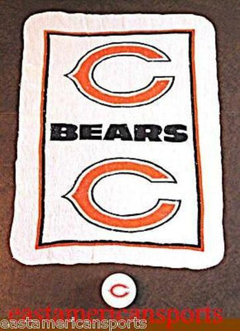 Chicago Bears NFL 11 x 17 Magic Tablet Rally Fan Towel Golf Hand Bath Wash Cloth