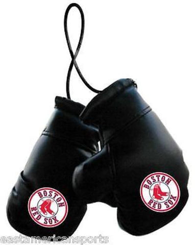 Boston Red Sox MLB Boxing Gloves Car Decoration Mirror Hanging Ornament Auto