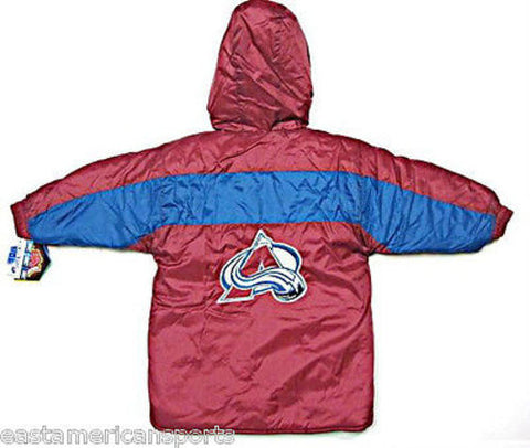 Colorado Avalanche NHL Toddler Puffy Winter Jacket Long Style Coat Kids Boys 4T