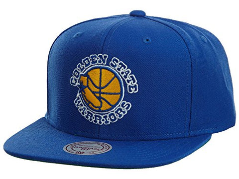 Mitchell & Ness - Golden State Warriors Wool Snapback Hat in Team Primary Color, Size: O/S, Color: Team Primary Color
