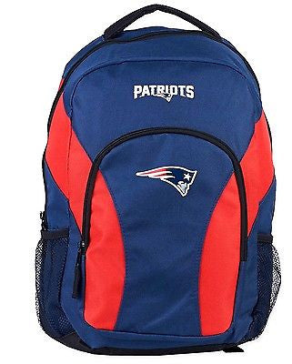 New England Patriots NFL Draft Day Backpack School Book Bag Travel Gym Case