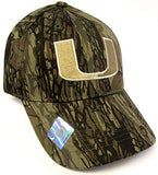 Captivating Headwear Miami Hurricanes NCAA Camo Camouflage Hunting Hat Cap Adult Men's Adjustable