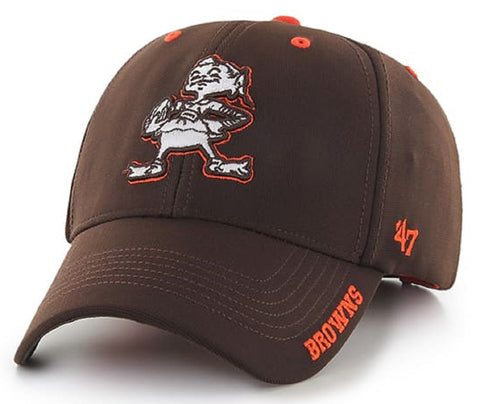 Cleveland Browns NFL '47 MVP Condenser Brown Hat Cap Adult Men's Adjustable