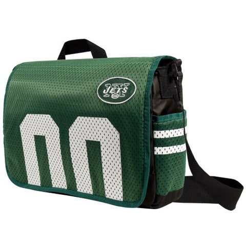 "New York Jets Jersey Messenger Bag 15.5"" x 4"" x 11"""