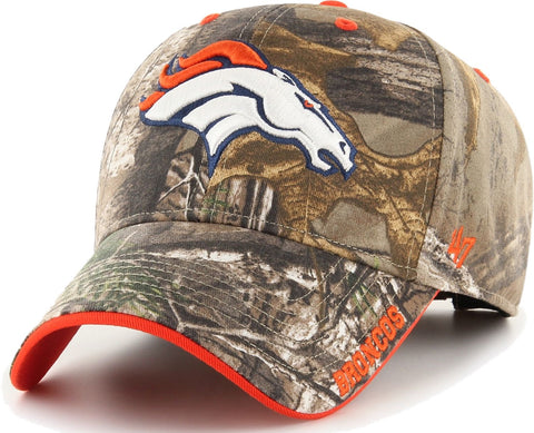Denver Broncos NFL '47 MVP Realtree Frost Camo Hat Cap Adult Men's Adjustable