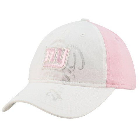 Reebok New York Giants Ladies White-Pink Slouch Adjustable Hat