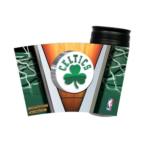Boston Celtics NBA 16oz Insulated Travel Tumbler Coffee Mug