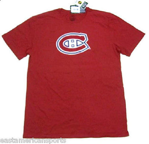 Montreal Canadiens NHL Reebok Retro Triathalon Red T Shirt Classic Logo Mens XL