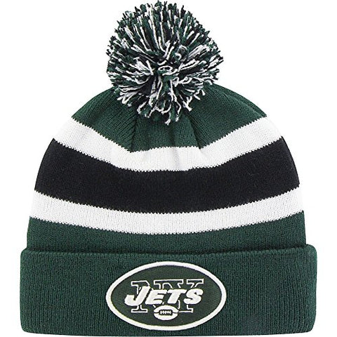 Brand 47 Breakaway Beanie with Pom (New York Jets)