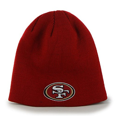 San Francisco 49ers NFL '47 Knit Hat Cap Beanie Red Adult size