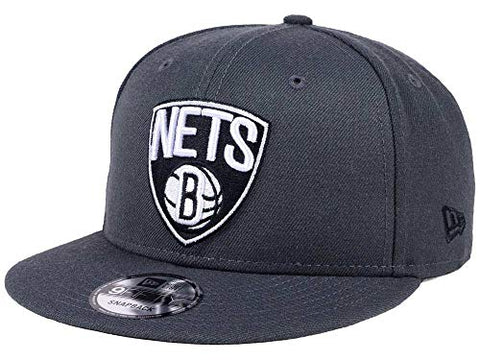 100% Authentic, NWT, Brooklyn Nets Graphite SnapBack hat cap Adjustsble , ODFM