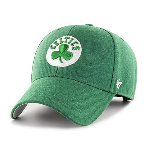 '47 Boston Celtics NBA MVP Basic Green Structured Hat Cap Adult Men's Adjustable