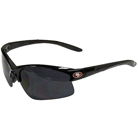 San Francisco 49ers NFL Black Rimless Sunglasses UV Protection