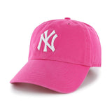New York Yankees MLB '47 Pink Magenta Slouch Hat Cap Women's Adjustable