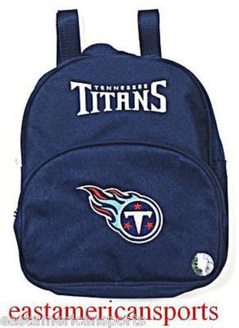 Tennessee Titans NFL Mini Book Bag Back Pack Gym School Sport Case Kids Adults