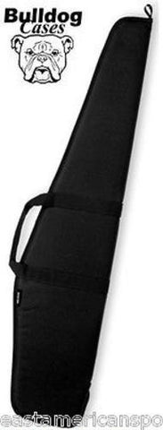"Bulldog 48"" Black Scoped Rifle or Air Rifle Gun Case Bag Hunting Target Range"