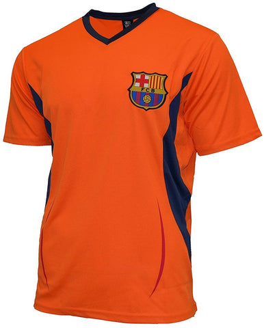 Barcelona Soccer Rhinox Orange Performance Training Jersey Shirt Adult Men's