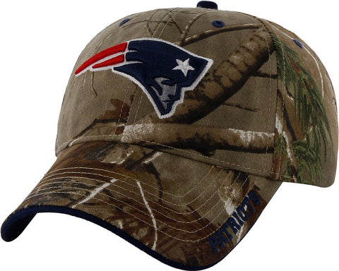 New England Patriots NFL '47 MVP RealTree Frost Camo Hat Cap Adult Adjustable
