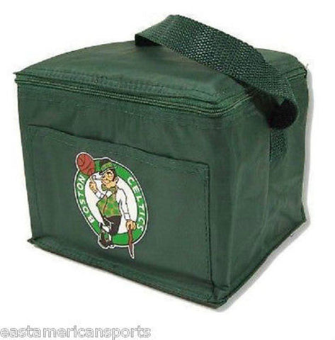 Boston Celtics NBA Lunch Box 6 Pack Cans Tote Cooler Bag Case Beer Tailgate