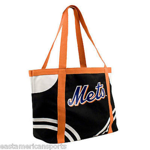 New York Mets MLB Canvas Bag Purse Beach Travel Tote Womens Handbag Littlearth