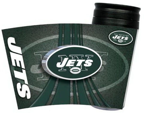 New York Jets NFL 16oz Insulated Travel Tumbler Coffee Mug