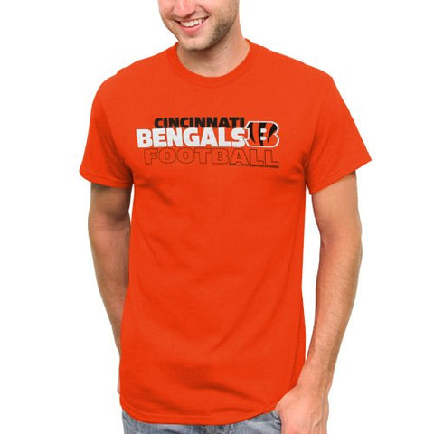 NFL Cincinnati Bengals Horizontal Text T-Shirt - Orange