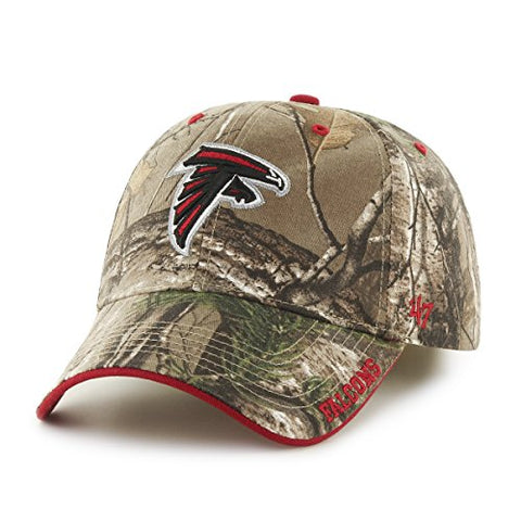 Atlanta Falcons NFL '47 Frost MVP RealTree Camo Camouflage Hat Cap Adult Men's Adjustable