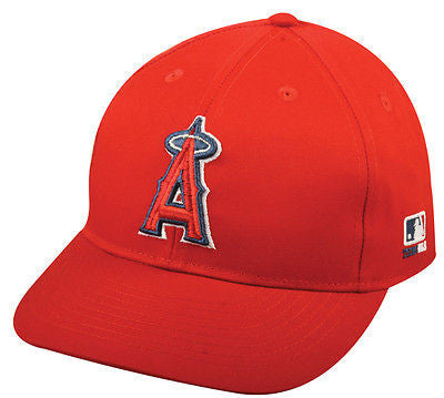 "Anaheim Angels MLB OC Sports Hat Cap Basic Red Home Team w/ ""A"" Logo"