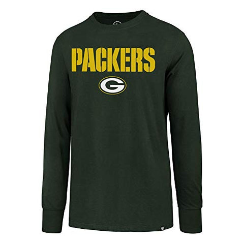 '47 Green Bay Packers Long Sleeve Tee Pregame Super Rival Tee