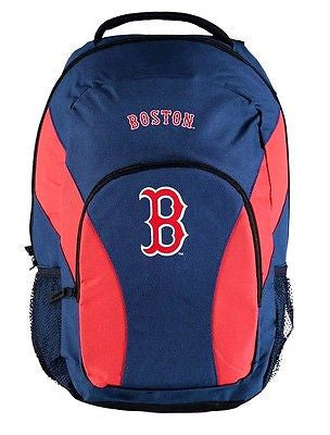 Boston Red Sox MLB Draft Day Backpack School Book Bag Travel Gym Case