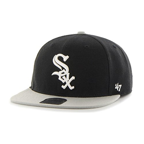 Chicago White Sox MLB '47 Sure Shot Two Tone Captain Adjustable Snapback Hat Cap