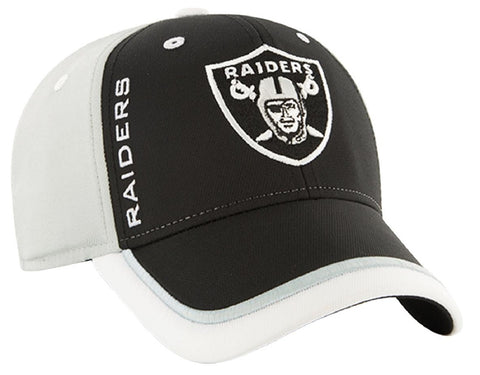 Oakland Raiders '47 NFL Crash Line Contender Hat Cap Flex Stretch Fit Adult OSFA