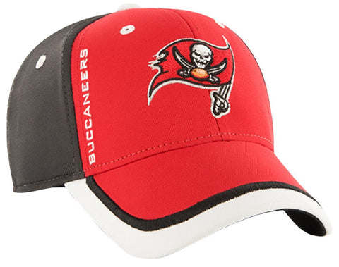 Tampa Bay Buccaneers Crash Line Contender Hat Cap Flex Stretch Fit Adult Men's OSFA