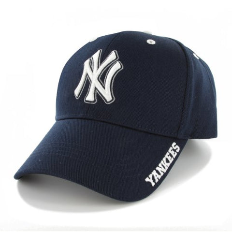 17d813b2b4214 MLB New York Yankees Men's Frost Structured Adjustable Cap, One Size, ...
