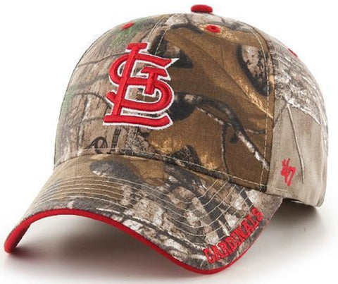 St. Louis Cardinals MLB '47 MVP Realtree Frost Camo Hat Cap Adult Adjustable