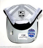 Los Angeles Kings NHL Reebok Black / White Mesh Stadium Series Classic Snapback