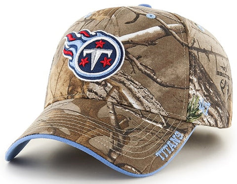 Tennessee Titans NFL '47 Realtree Camo Frost Hat Cap Adult Men's Adjustable