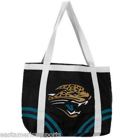 Jacksonville Jaguars NFL Canvas Tailgate Bag Purse Tote Beach Handbag Littlearth