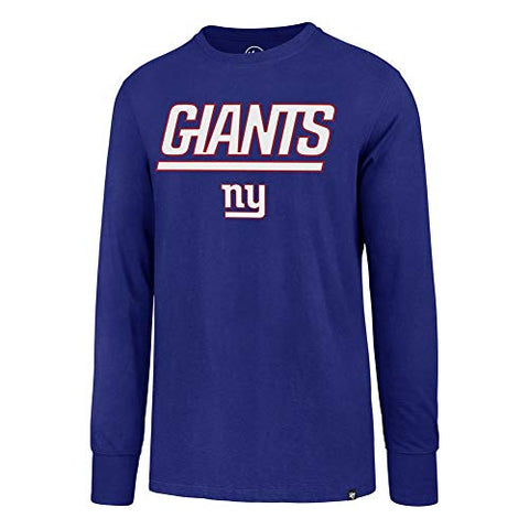 '47 New York Giants NY Long Sleeve Tee Pregame Super Rival Tee