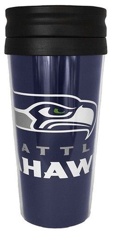 Seattle Seahawks NFL 14oz Insulated Travel Hype Tumbler Coffee Mug
