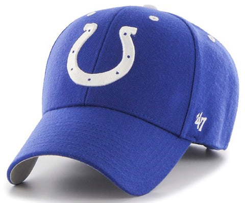 Indianapolis Colts NFL '47 MVP Audible Blue Hat Cap Adult Men's Adjustable