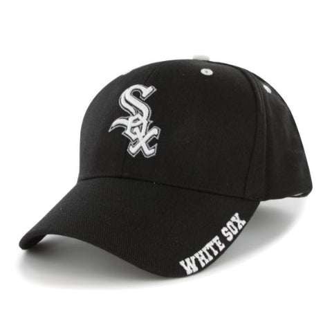 Chicago White Sox MLB '47 MVP Black Frost Hat Cap Adult Men's Adjustable