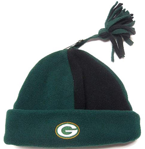 Reebok Green Bay Packers Green Tassel Knit Beanie