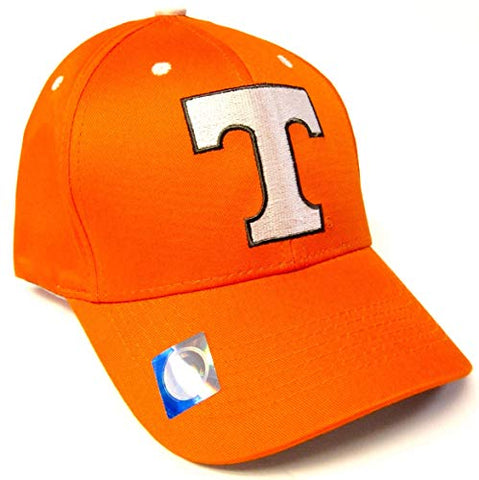 Tennessee Volunteers NCAA Basic Orange Structured Hat Cap Adult Men's Adjustable