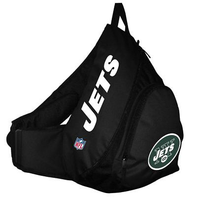 New York Jets NFL Black SlingBack Book Bag Camera Case Back Pack School Travel