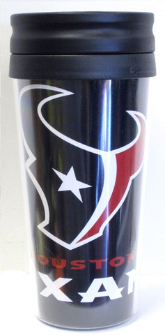 Houston Texans NFL 14oz Insulated Travel Hype Tumbler Coffee Mug